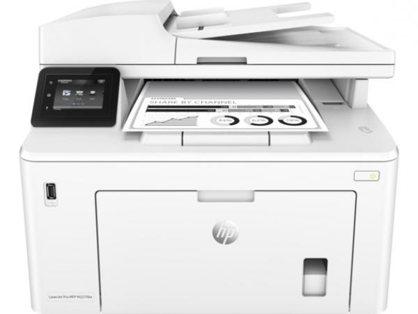 HP LaserJet Pro MFP M227fdw, A4, LAN, WiFi, NFC, duplex, ADF, fax