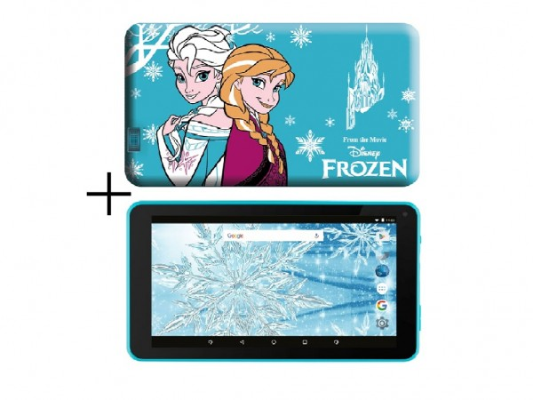 eSTAR Themed Tablet Frozen 7'' ARM A7 QC 1.2GHz1GB8GB0.3MPWiFiAndroid 7.1BlueFrozen Futrola