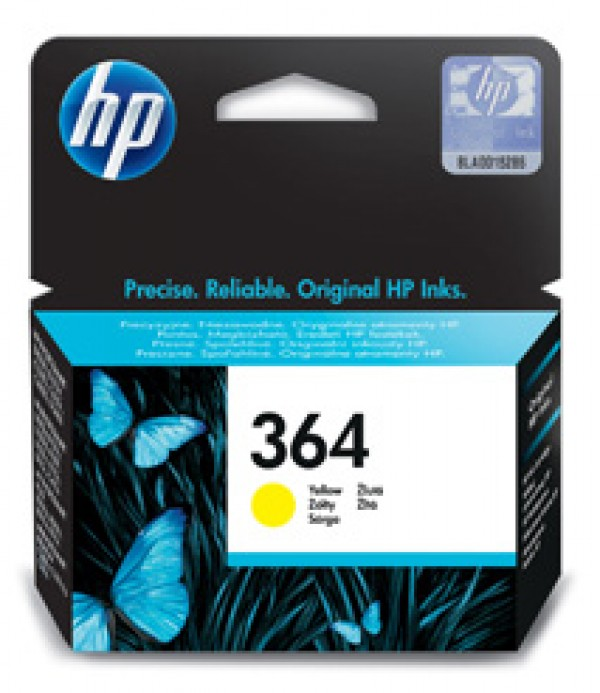 HP No.364 Yellow Ink Cartridge za Photosmart D5460 [CB320EE]
