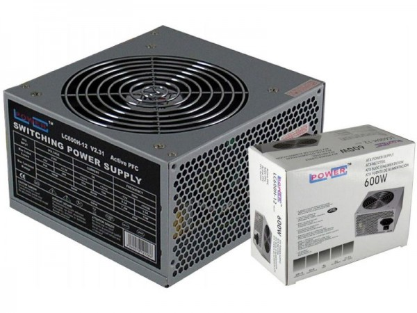 LC Power Napajanje LC600H-12 V2.31 MAX 600W; Fan