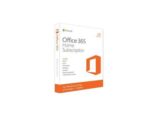 Office 365 Home English Subscr 1YR CEE Euro Only Medialess P4