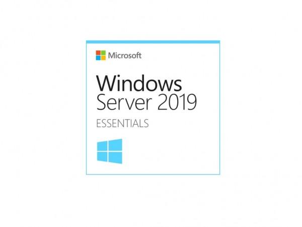 Windows Server Essentials 2019 64Bit Eng 1pk DSP OEI DVD 1-2CPU