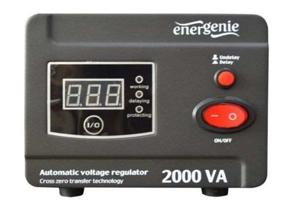 GEMBIRD EG-AVR-D2000-01  Automatic voltage regulator and stabilizer \''Digital Series\'', 2000VA