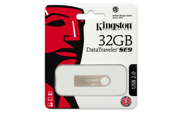 Kingston 32GB DT USB 2.0 DTSE9H32GB metal