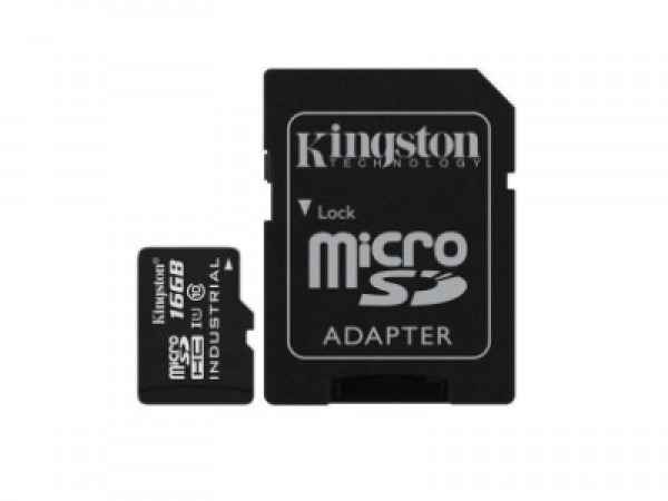 Kingston microSDXC 16GB Class 10 U1 UHS-I + adapter SDCIT16GB 90MBs, 45MBs
