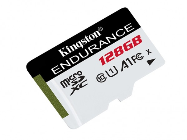 Kingston microSDXC 128GB Class 10 U1 UHS-I 95MBs-45MBs SDCE128GB + adapter