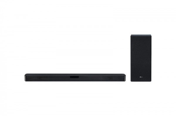 LG SL5Y soundbar, 2.1, 400W, WiFi Subwoofer, Bluetooth, DTS Virtual X, Black