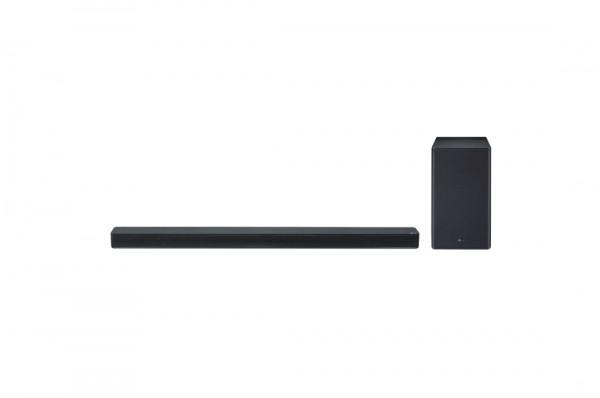 LG SK8 soundbar, 2.1, 360W, WiFi Subwoofer, Bluetooth, Dolby Atmos, Chromecast, Black
