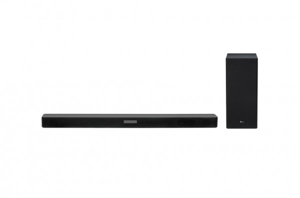 LG SK5 soundbar, 2.1, 360W, WiFi Subwoofer, Bluetooth, DTS Virtual X, Black
