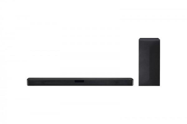 LG SL4Y soundbar, 2.1, 300W, WiFi Subwoofer, Bluetooth, Black