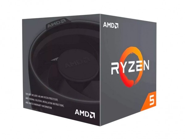 AMD Ryzen 5 6C12T 1600 (3.23.6GHz Boost,19MB,65W,AM4) with Wraith Spire 95W cooler.