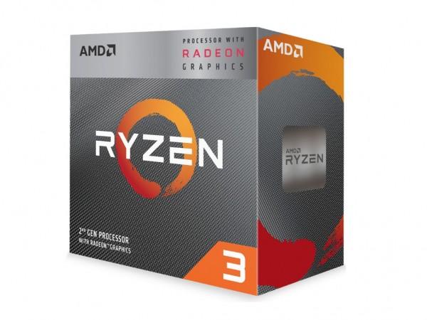 AMD CPU Ryzen 3 4C4T 3200G (4.0GHz 6MB 65W AM4) RX Vega 8, BOX