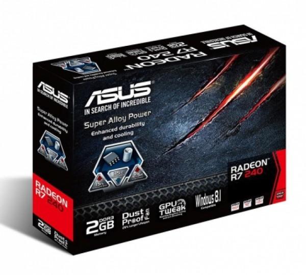 Asus AMD R7 240 2GB 128bit R7240-2GD3-L