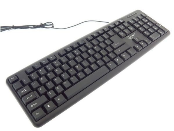 GEMBIRD KB-U-103  Standardna tastatura US layout black USB