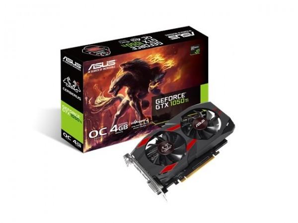 Asus NVD GTX 1050Ti 4GB 128bit CERBERUS-GTX1050TI-O4G