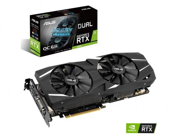 Asus NVD RTX 2060 6GB DDR6 192bit DUAL-RTX2060-O6G-EVO