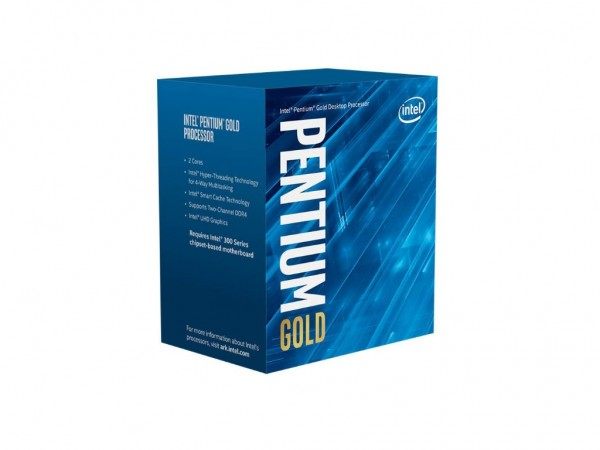Intel Gold Pentium G5400 3.7 Ghz, 4MB, LGA1151, Coffee lakeBOX sa hladnjakom