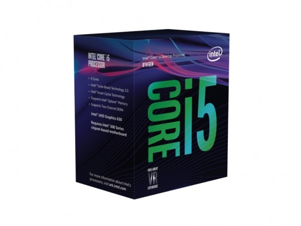 Intel CPU Core i5-9600K 3,70 GHz BOXsa hladnjakom