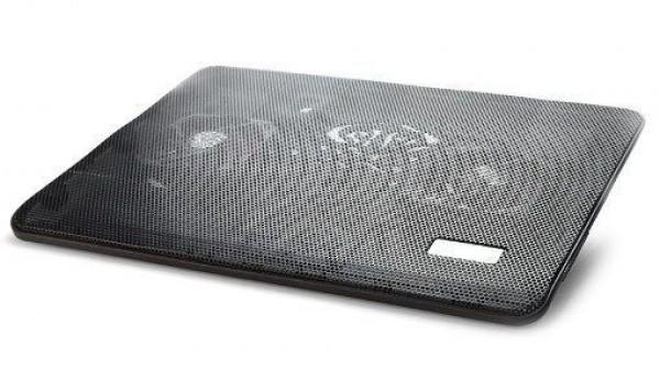 GEMBIRD NBS-2F17-01  hladnjak za laptop 17\'', 2x8cm LED FAN, 1500rpm, 21CFM, USB, 34x25cm