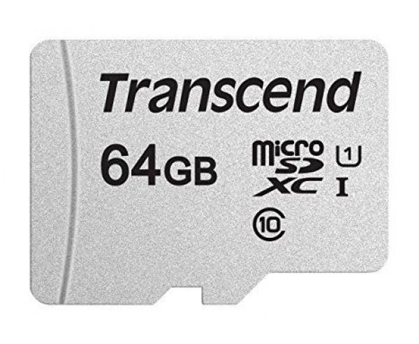 Transcend SD MICRO 64GB HC Class UHS-I U3 300S TS