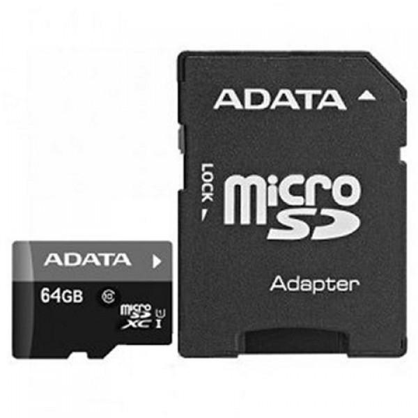 Adata  64GB HC Class 10 UHS + 1 ad AD