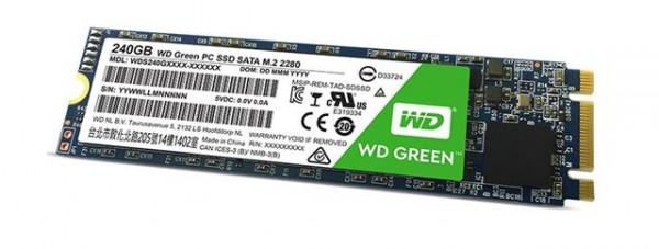 SSD WDGreen™ 240GB M.2 WDS240G2G0B