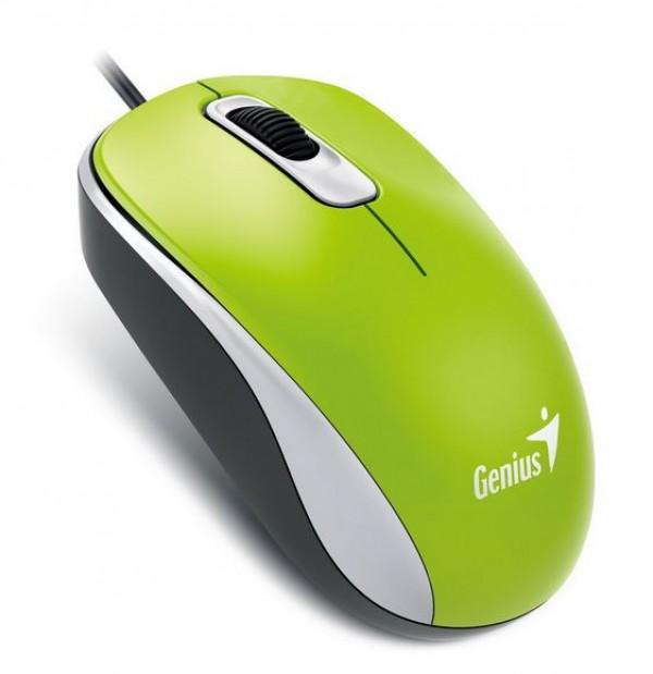 GENIUS DX-110 USB Optical zeleni miš