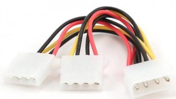 GEMBIRD CC-PSU-1  Internal power MOLEX 4-pin splitter kabl 15cm