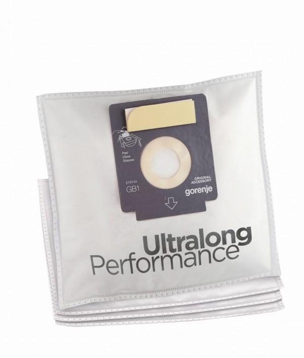 Gorenje GB1 MBUP Komplet 4 mikrofilter 3-slojne kese + 1 filter
