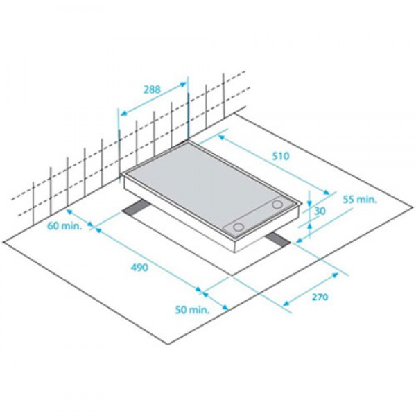 BEKO Ugradna ploča HDCC 32200X
