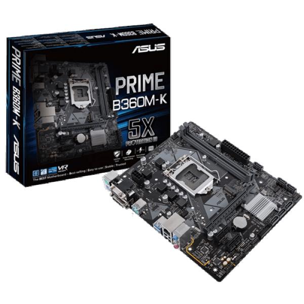 Asus Intel MB PRIME B360M-K