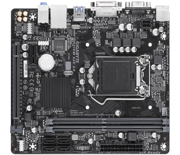 Gigabyte MB H310M S2V 2.0 1.0