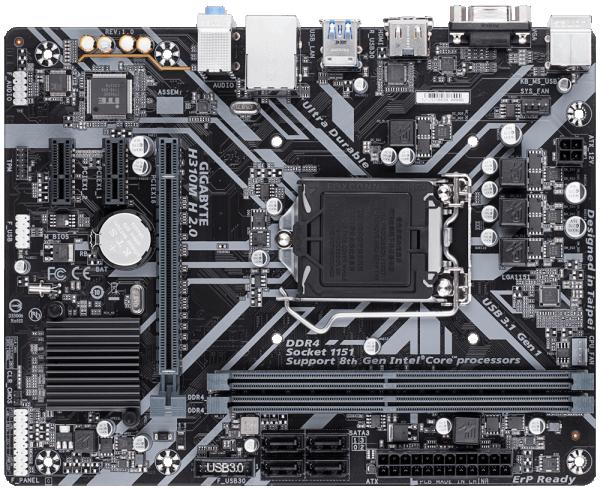 GIGABYTE MB H310MH 2.0 1.0 rev