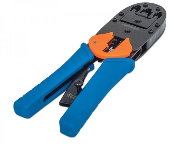 INTELLINET Modular Plug Crimping Tool universal RJ11/RJ12/RJ45/ Blister