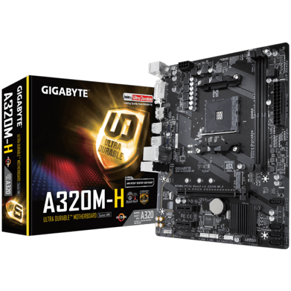 Gigabyte AMD MB GA-A320M-H 1.1 AM4
