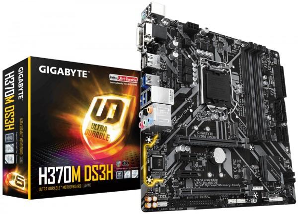 Gigabyte Intel MB H370M DS3H 1151