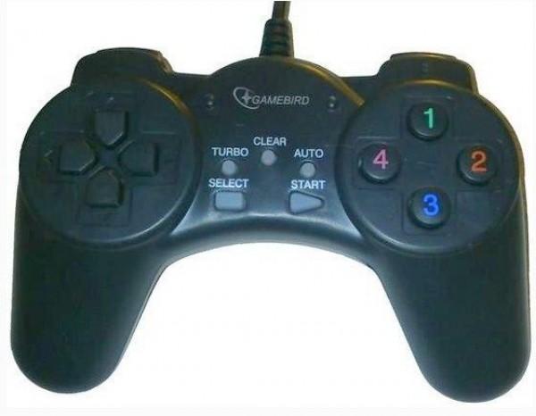 GEMBIRD JPD-DIGITALPAD  USB 2.0 digital gamepad black (232)
