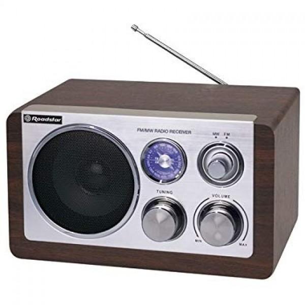 Roadstar hra1200wd radio sa drvenim kućištem