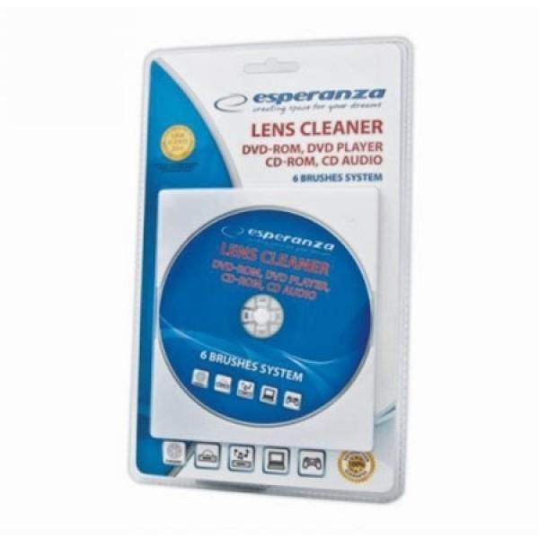 Esperanza es117 disk za čišćenje cd/dvd uređaja