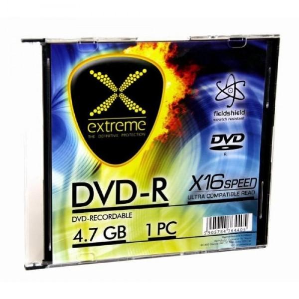 Extreme dvd-r1168  4,7gbx16 slim case 1 kom
