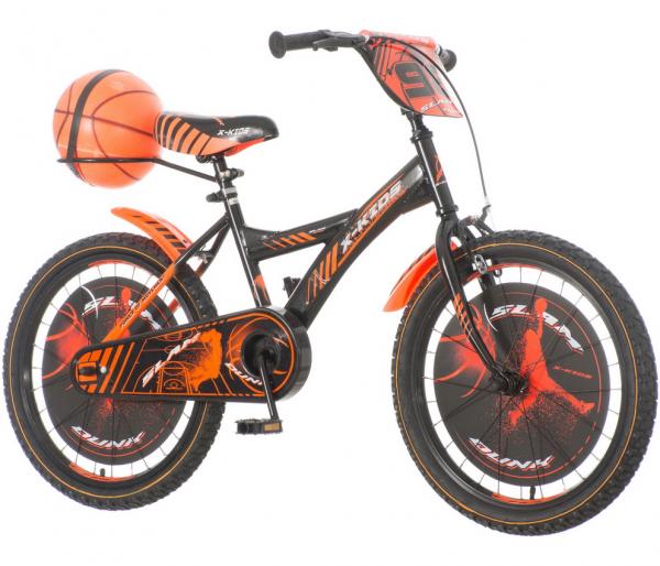 VENERABIKE Dečija bicikla 20'' BAS200 narandžasto-crna + SET