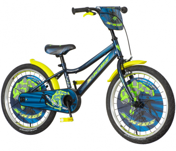 VeneraBike Dečiji bicikl 20'' ROB200 Roboter X-kids + SET