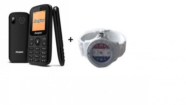Energizer mob.telefon E10 + sat beli
