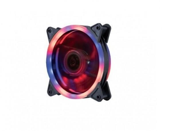 Zeus ventilator 12cm Dual Ring RGB