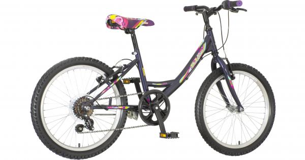 VENERABIKE Dečiji bicikl 20'' PARMA tamno ljubičasta + SET