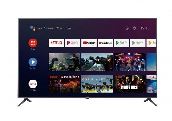 ALPHA TV 58F8UA, 57.5'', 4K Ultra HD, DVB-CTT2SS2