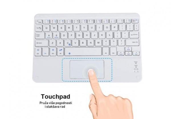 STARK Bežična tastatura BTK770W US bela (bluetooth)