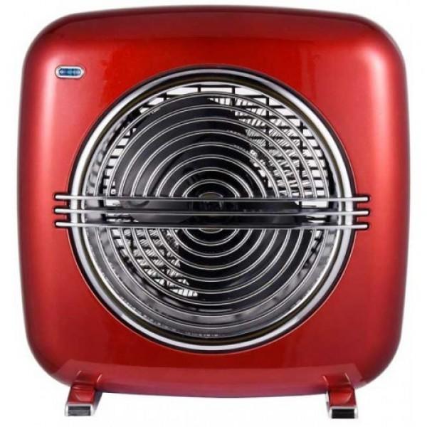 Ardes 4f07r retro grejalica sa metalnim kućištem crvena