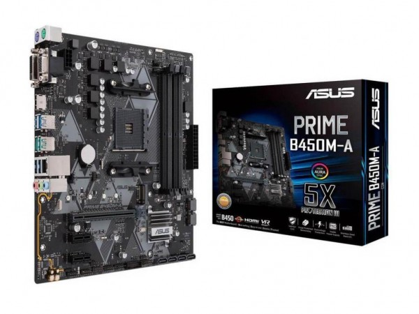 Asus AMD MB PRIME B450M-A AM4