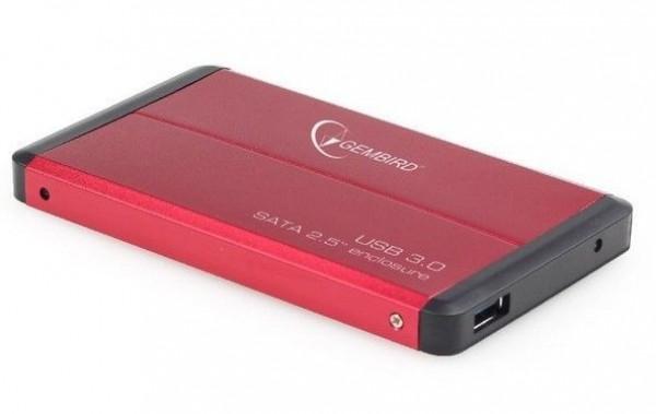GEMBIRD EE2-U3S-2-R  USB 3.0 Externo kuciste za 2.5\'' SATA hard diskove crveni (fo)